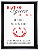 For Your Kitchen wins the Best of Ogden Award