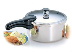 Presto® 4-Quart Stainless Steel Pressure Cooker - $74.99