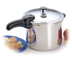 Presto® 6-Quart Stainless Steel Pressure Cooker - SALE $79.99
