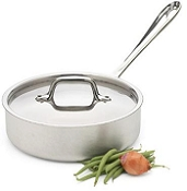 All-Clad 1QT Sauce Pan with Lid