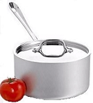 All-Clad 1 1/2 Qt Stainless Steel Sauce Pan