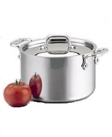 All-Clad 6 QT Stainless Stockpot with Lid $245.00