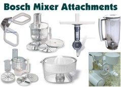 Bosch Mixer Attachments - We Carry All Available Bosch Accessories!
