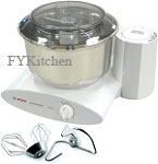 Bosch Mixer W/ Stainless Bowl -<Font color=Blue>$479.99<li>FREE S/H