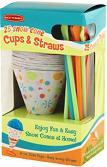 Cups and Spoon Straws