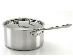 All-Clad 1 QT Sauce Pan with Lid $120.00