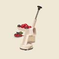 Back to Basics Cherry Stoner with Suction Base - $28.99