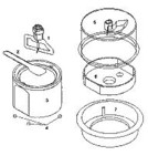 Bosch Concept Ice Cream Maker Parts