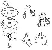 Bosch Concept Plastic Bowl Pack Parts
